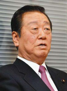 小沢一郎「頭が腐れば全部腐る。いよいよ腐敗が止まらなくなる」