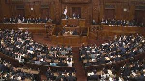 【速報】内閣不信任案が与党の反対多数で否決